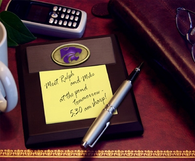 Kansas State Memo Pad Holder