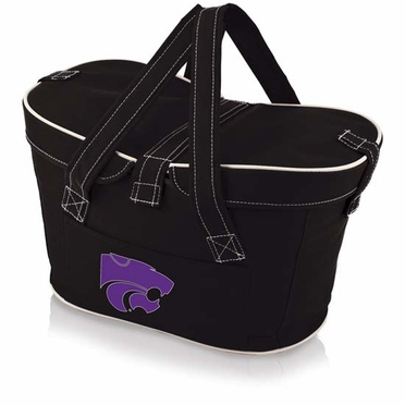 Kansas State Mercado Picnic Basket (Black)