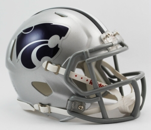 Kansas State Mini Replica Helmet