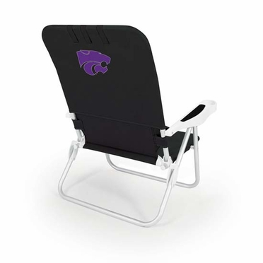 Kansas State Monaco Beach Chair (Black)