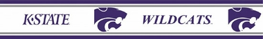 Kansas State Peel and Stick Wallpaper Border