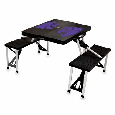 Kansas State Picnic Table (Black)