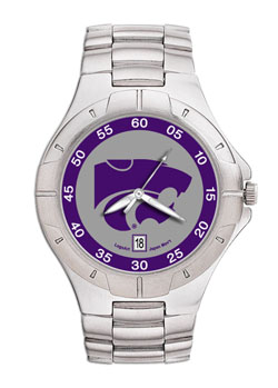 Kansas State Pro II Men's Stainless Steel Watch