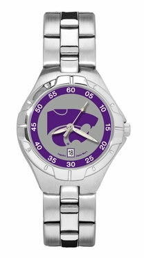 Kansas State Pro II Women's Stainless Steel Watch