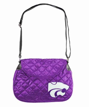 Kansas State Quilted Saddlebag