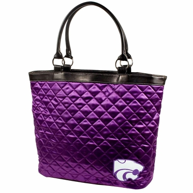 Kansas State Quilted Tote