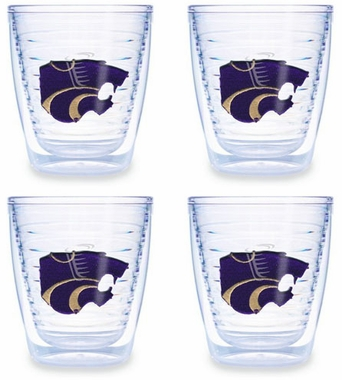 Kansas State Set of FOUR 12 oz. Tervis Tumblers