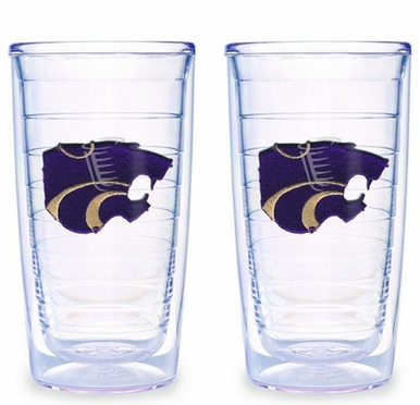 Kansas State Set of TWO 16 oz. Tervis Tumblers