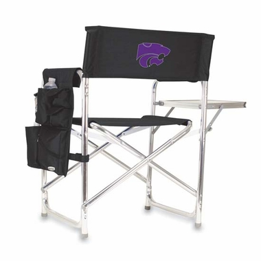 Kansas State Sports Chair (Black)