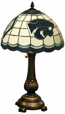 Kansas State Stained Glass Table Lamp
