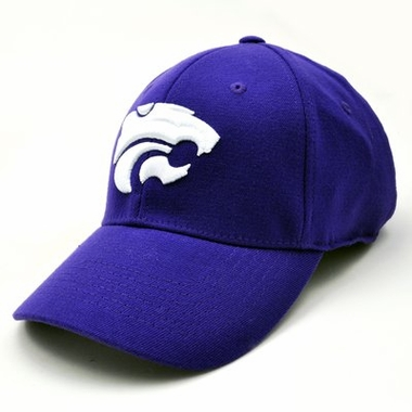 Kansas State Team Color Premium FlexFit Hat