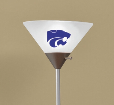 Kansas State Torchierre Floor Lamp