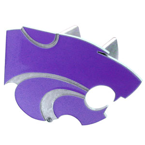 Kansas State Trailer Hitch Cover