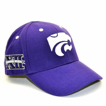 Kansas State Triple Conference Adjustable Hat