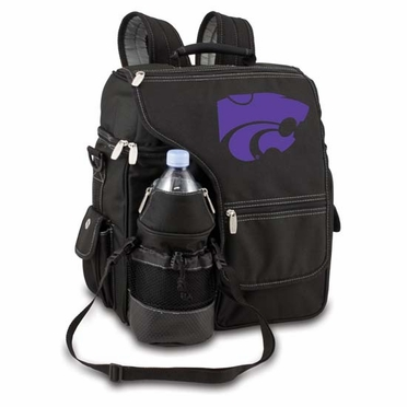Kansas State Turismo Embroidered Backpack (Black)