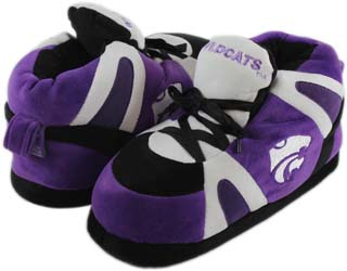 Kansas State UNISEX High-Top Slippers - Small