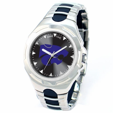 Kansas State Victory Mens Watch