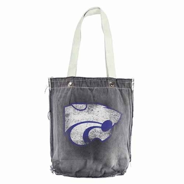 Kansas State Vintage Shopper (Black)