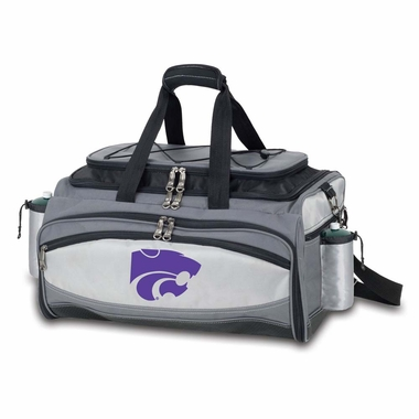 Kansas State Vulcan Embroidered Tailgate Cooler (Black)