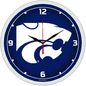 Kansas State Wall Clock