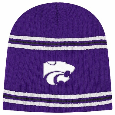Kansas State Wildcats 2012 Plow Cuffless Rib Knit Beanie