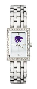 Kansas State Women's Steel Band Allure Watch