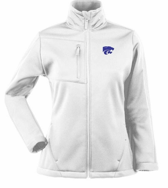 Kansas State Womens Traverse Jacket (Color: White)