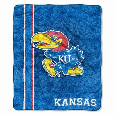 Kansas Super-Soft Sherpa Blanket