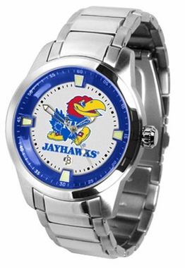 Kansas Titan Men's Steel Watch
