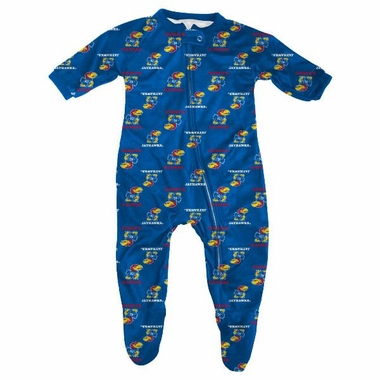 Kansas Toddler Zip Raglan Coverall Sleeper