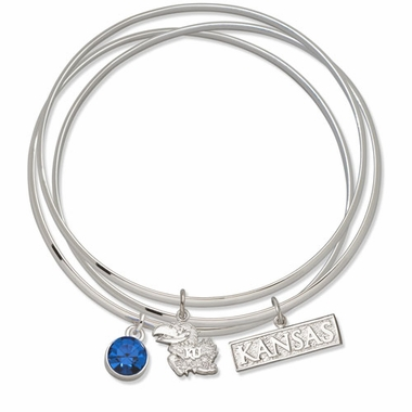 Kansas Triple Bangle Bracelet