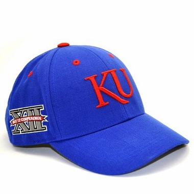 Kansas Triple Conference Adjustable Hats