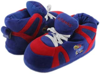Kansas UNISEX High-Top Slippers - Small