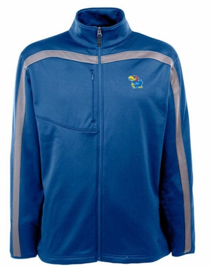 Kansas Mens Viper Full Zip Performance Jacket (Team Color: Royal)