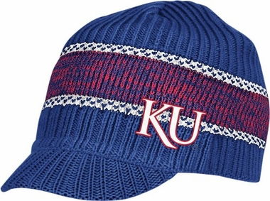 Kansas Visor Knit Hat