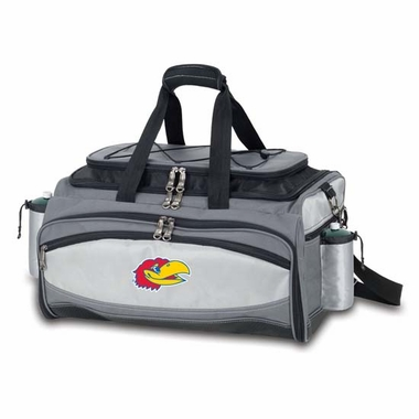 Kansas Vulcan Embroidered Tailgate Cooler (Black)
