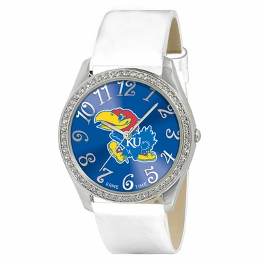 Kansas Women's Glitz Watch