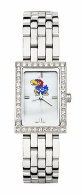 Kansas Women's Steel Band Allure Watch