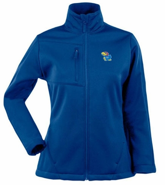 Kansas Womens Traverse Jacket (Team Color: Royal)
