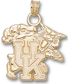 Kentucky 14K Gold Pendant