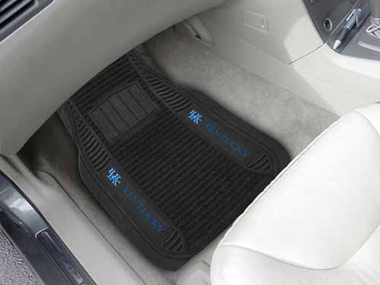 Kentucky 2 Piece Heavy Duty DELUXE Vinyl Car Mats