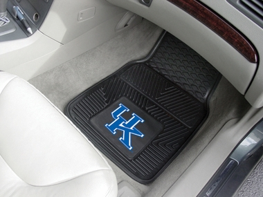 Kentucky 2 Piece Heavy Duty Vinyl Car Mats