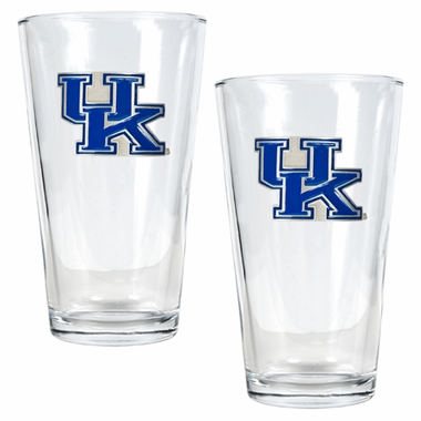 Kentucky 2 Piece Pint Glass Set