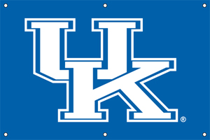 Kentucky 2 x 3 Horizontal Applique Fan Banner