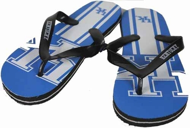 Kentucky 2012 Unisex Big Logo Flip Flops