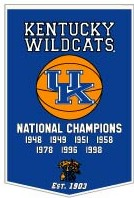 "Kentucky 24""x36"" Dynasty Wool Banner"