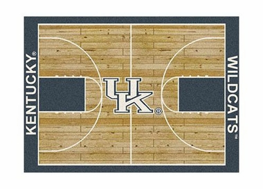 "Kentucky 3'10"" x 5'4"" Premium Court Rug"
