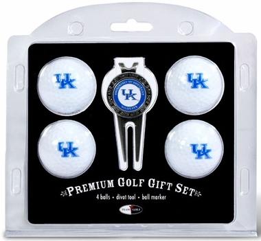 Kentucky 4 Ball and Tool Gift Set