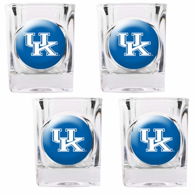 Kentucky 4 Piece Shot Glass Set