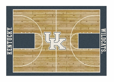 "Kentucky 5'4"" x 7'8"" Premium Court Rug"